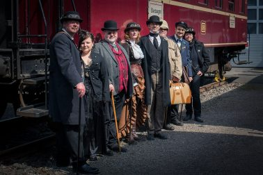 Dahlhausen Eisenbahnmuseumsfest Steampunk