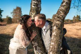 Hochzeitspaar mit Baum
