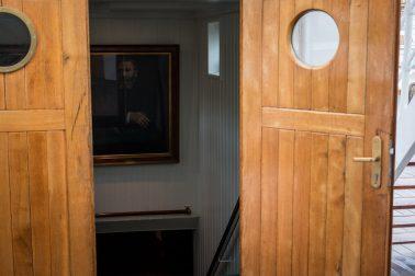Rickmer Rickmers - Eingang zur Treppe