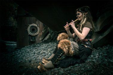 Faun mit Flöte