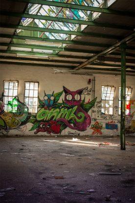 Düsseldorf alte papierfabrik lost place