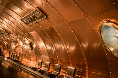 Paris Metro Station Ars et metiers