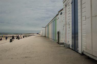 Zeeland - Kabinen am Strand