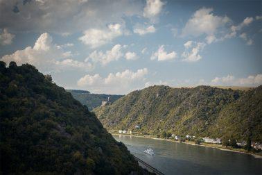 Blick von Burg Rheinfels