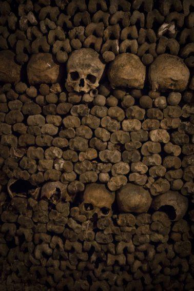 Paris Catacombes - Totenschädel